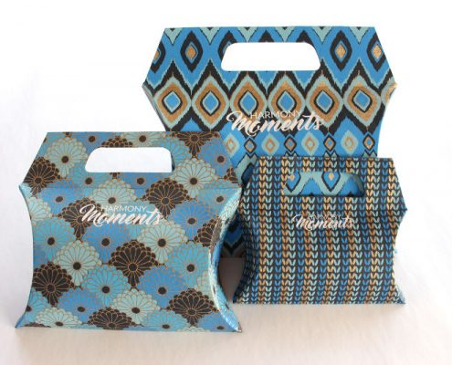 Bags von HARMONYMOMENTS in blau
